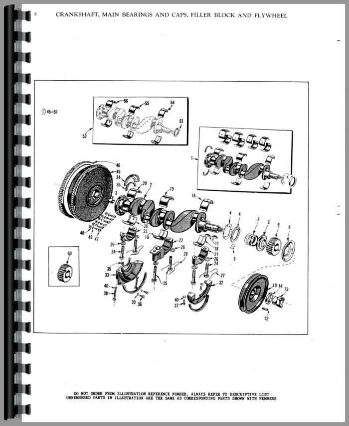 Massey Harris Mustang Tractor Parts Manual