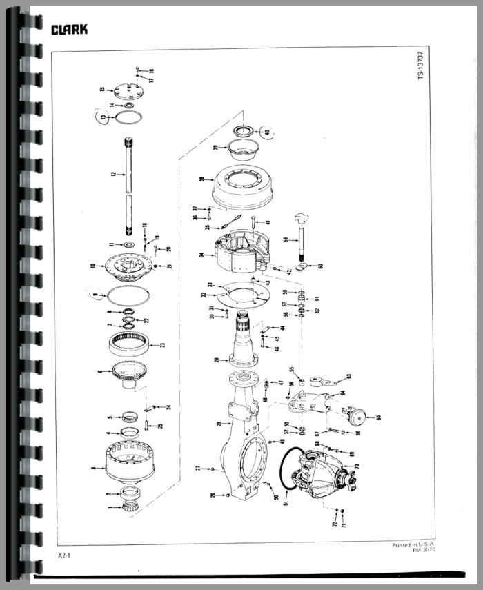 Michigan 275B Wheel Loader Parts Manual