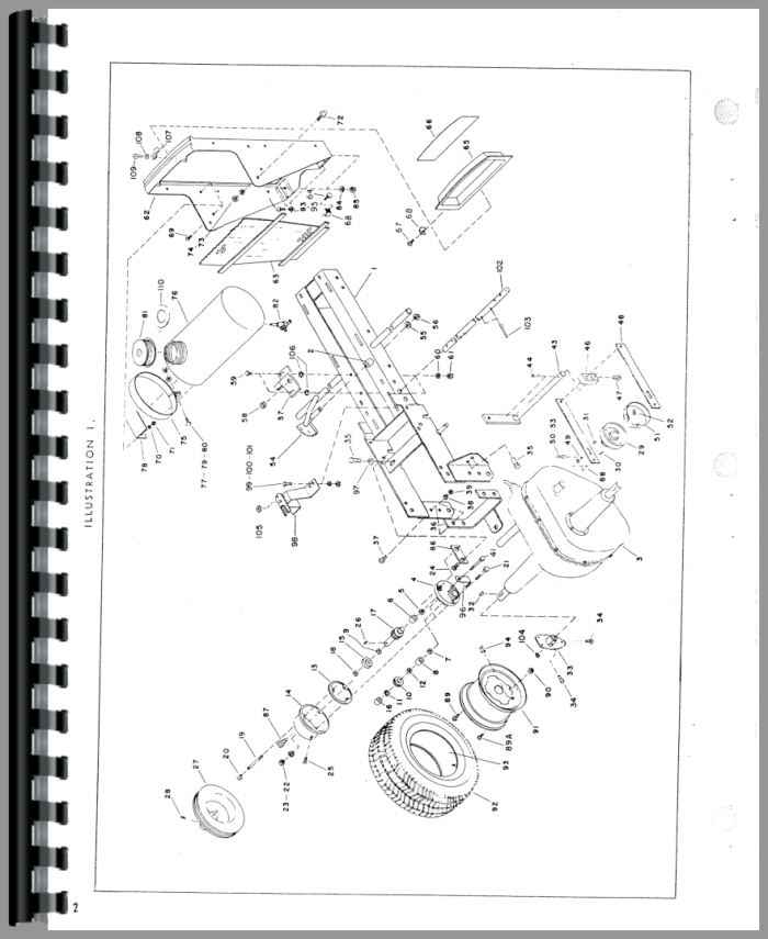 Minneapolis Moline 110 Lawn & Garden Tractor Parts Manual