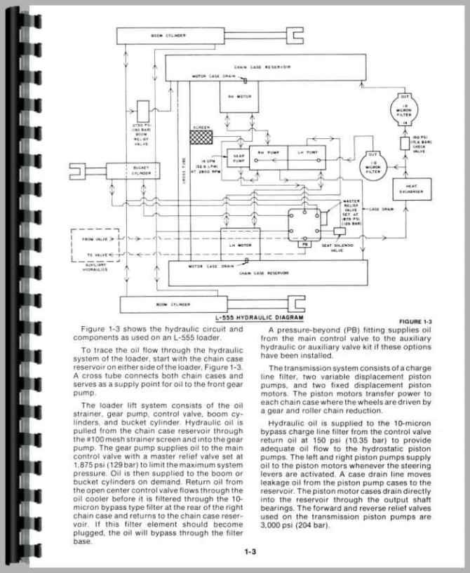 new holland l550 skid steer service manual