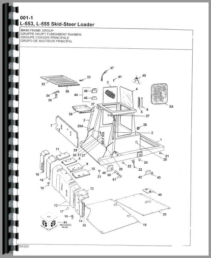 New Holland Skid Steer Engine Diagram