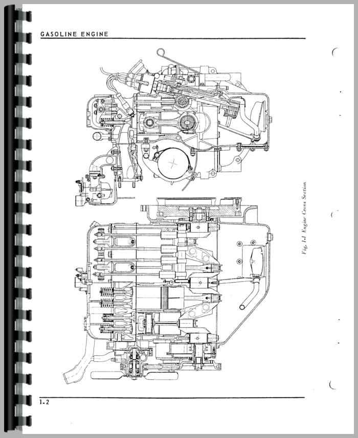 Oliver 1250 Tractor Service Manual