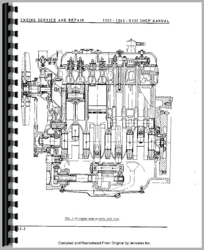Oliver 1365 Tractor Service Manual
