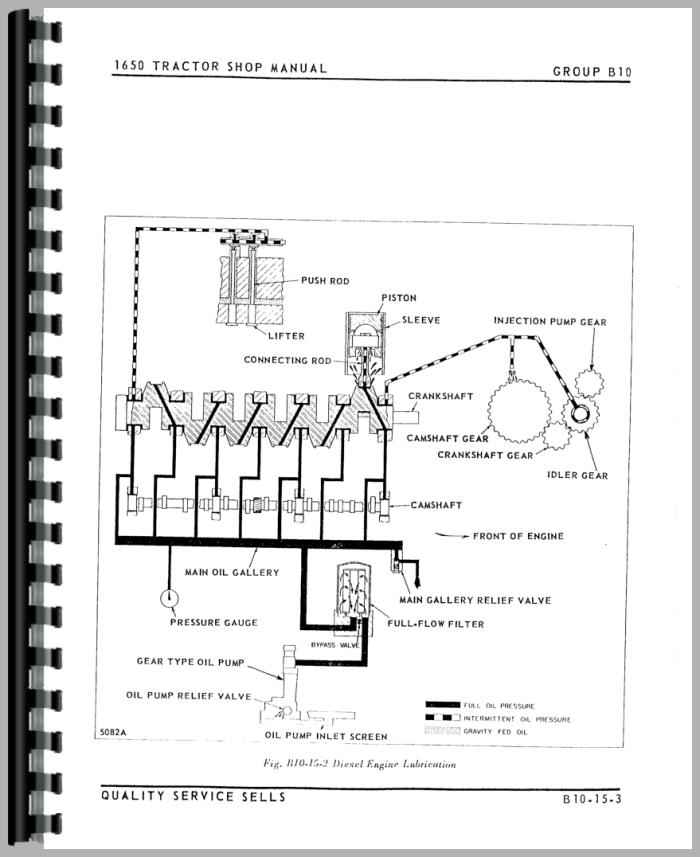 Oliver 1650 Wiring Diagram International 966 Wiring