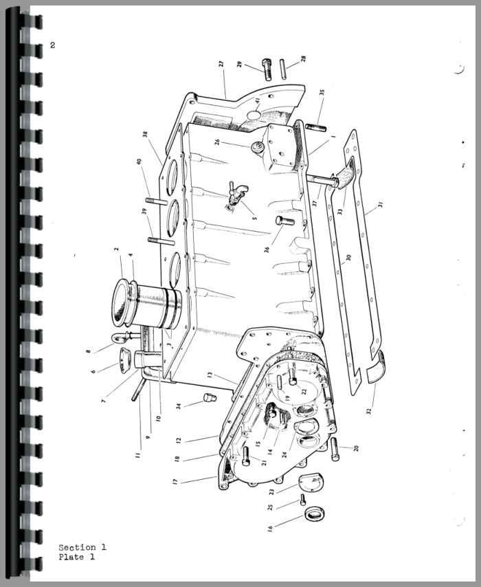 Oliver 500 Tractor Parts Manual