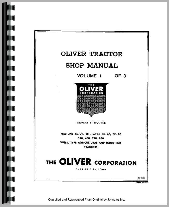 oliver 550 tractor wiring diagram