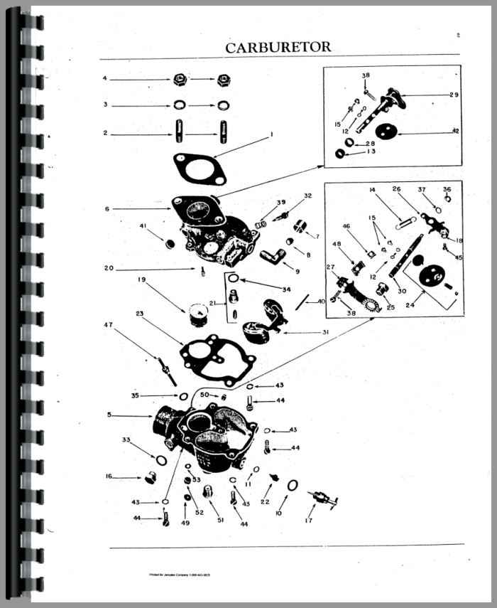 Oliver 70 Tractor Parts Manual