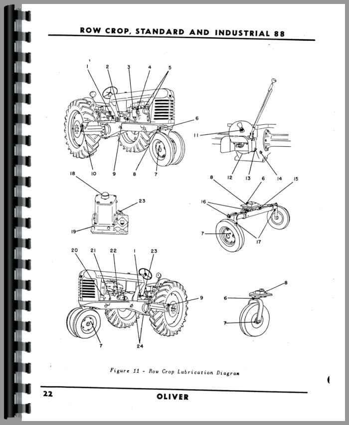 oliver 1650 wiring diagram