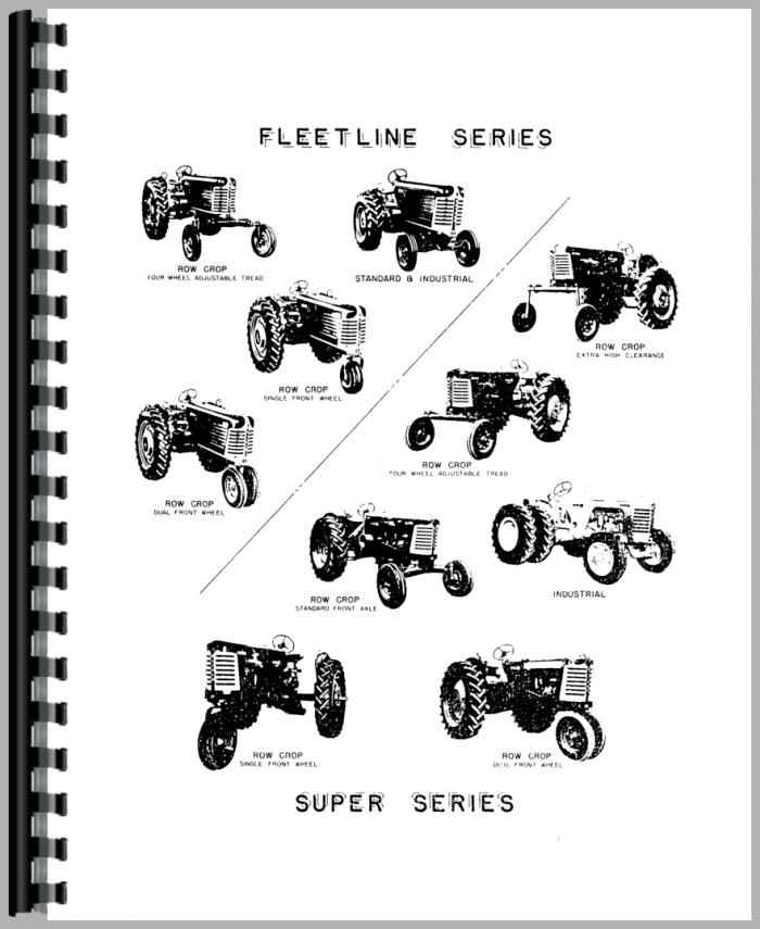 Oliver 88 Tractor Parts Manual