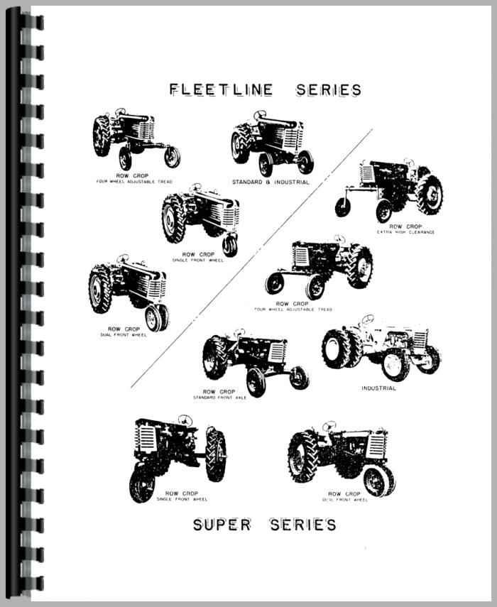 Oliver Super 88 Tractor Parts Manual