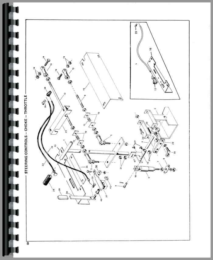 Owatonna 330 Skid Steer Loader Parts Manual