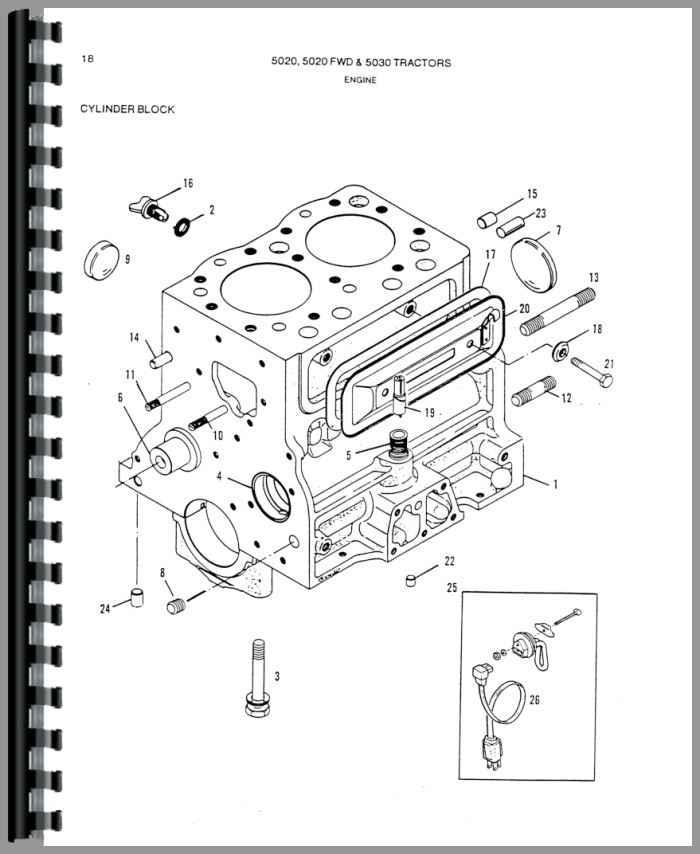 Simplicity 9523 Tractor Parts Manual