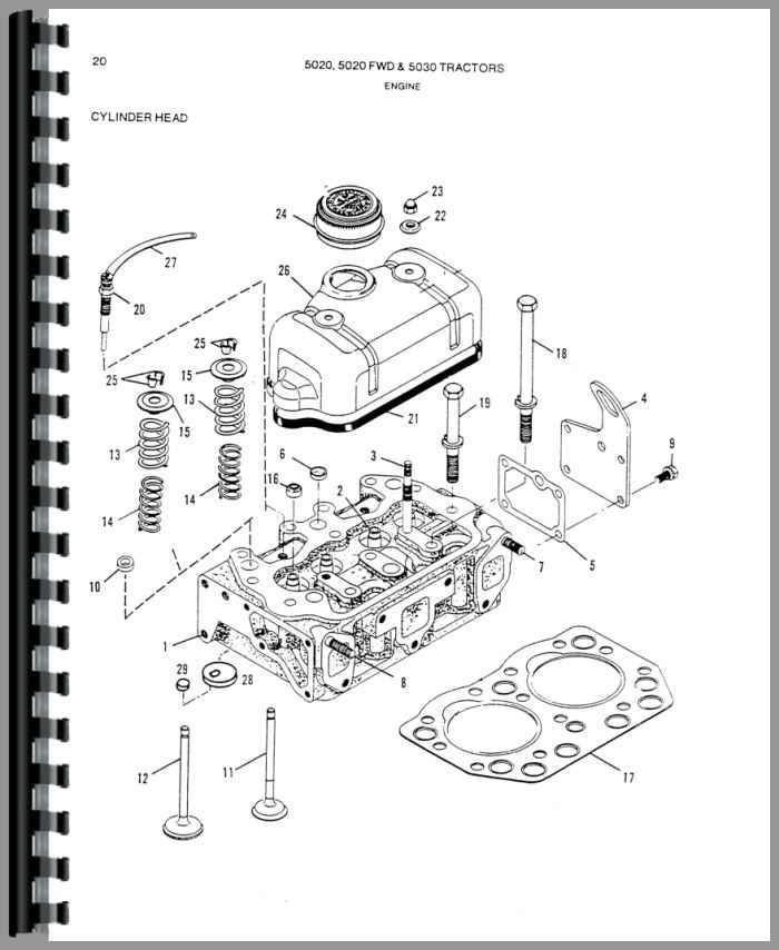 Simplicity 9528 Tractor Parts Manual