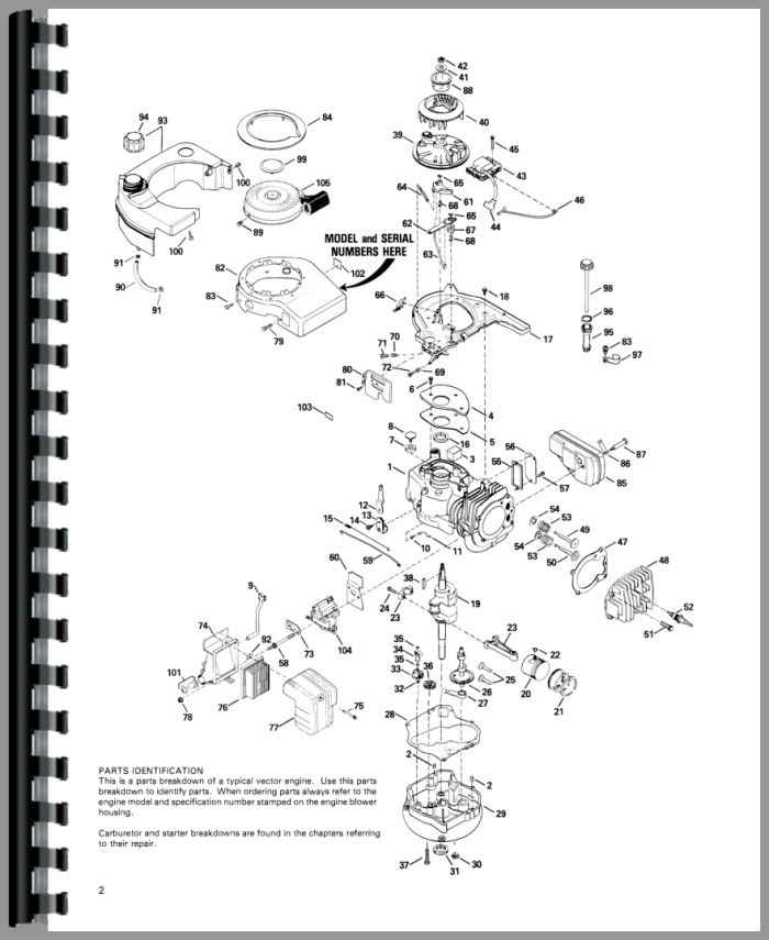 Tecumseh Vector Engine Service Manual