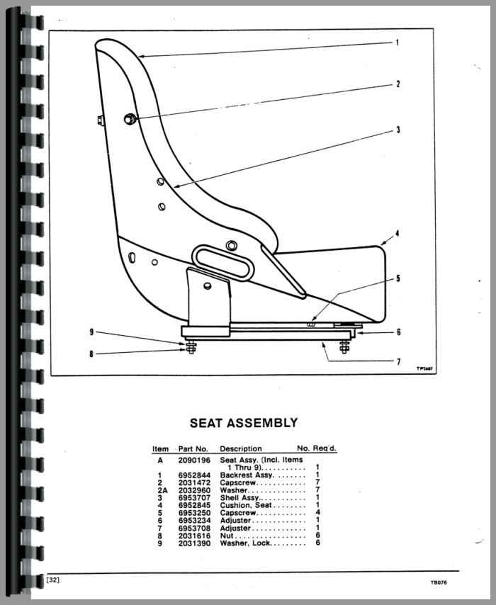 Trojan 2000 Wheel Loader Parts Manual