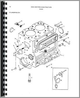 Allis Chalmers 5020 Tractor Parts Manual
