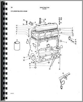 Allis Chalmers 5040 Tractor Parts Manual