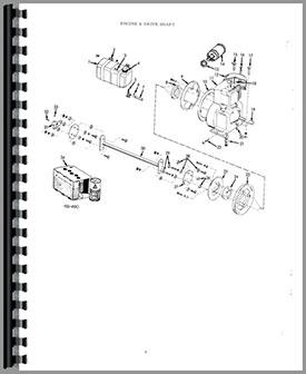 Allis Chalmers B-112 Lawn & Garden Tractor Parts Manual
