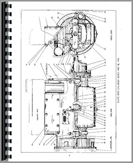 Allis Chalmers M Crawler Parts Manual