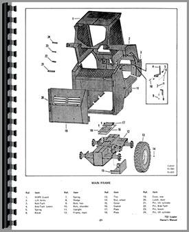 Bobcat 732 Skid Steer Loader Operators Manual