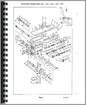 Bolens Husky 1253 Lawn & Garden Tractor Service Manual