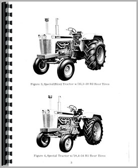 Case 1030 Tractor Operators Manual