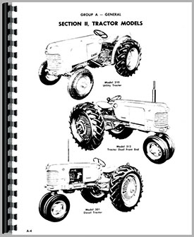 Case 310B Tractor Service Manual