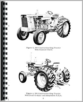 Case 580 Industrial Tractor Operators Manual
