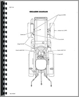 Case-IH 235 Tractor Service Manual