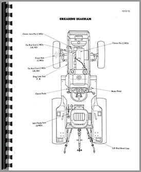 Case-IH 275 Tractor Service Manual