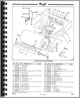 Caterpillar 600A Raygo Rascal Roller Parts Manual