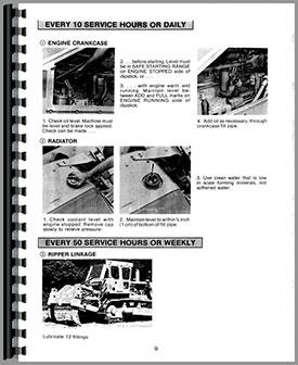 Caterpillar D8K Crawler Operators Manual