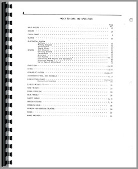 Cockshutt 540 Tractor Operators Manual