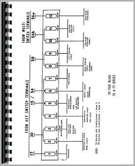 Deutz D10006 Tractor Wiring Diagram Service Manual