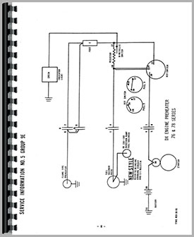Deutz D10006 Tractor Wiring Diagram Service Manual