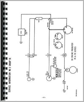 Deutz D4006 Tractor Wiring Diagram Service Manual