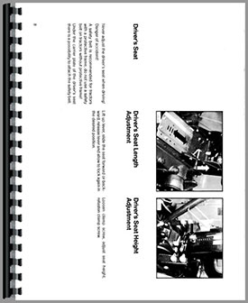 Deutz D7807 Tractor Operators Manual