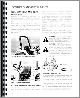 Ford Tractor Repair Manual Online