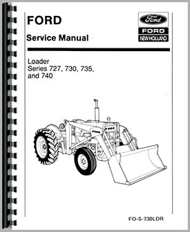 Ford 3550 Loader Service Manual
