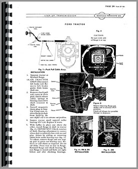 Ford 8N Sherman Transmission Service Manual