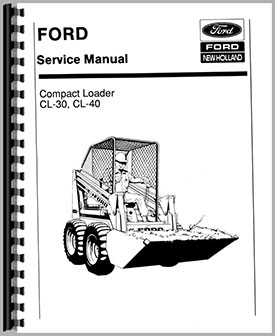 Ford CL40 Skid Steer Service Manual