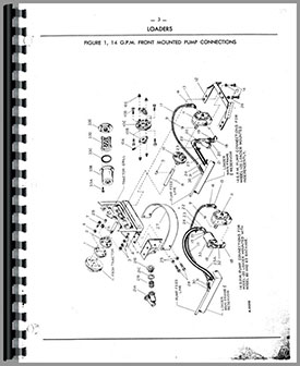 Ford Wagner Farm Loader Parts Manual