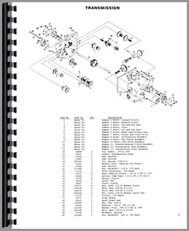 Gravely 8177 Lawn & Garden Tractor Parts Manual