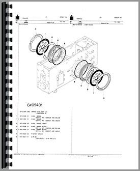 International Harvester 4 Cylinder Engine, International
