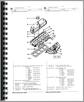 International Harvester 3414 Industrial Tractor Parts Manual
