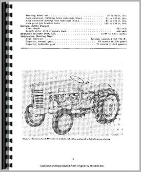 Farmall 350 Tractor Service Manual