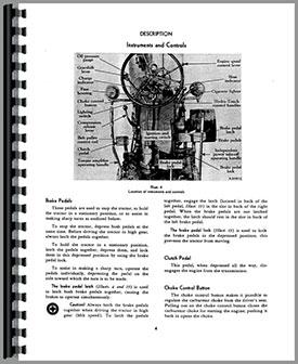 Farmall 400 Tractor Operators Manual