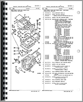 Farmall 656 Tractor Parts Manual