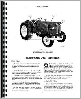 International Harvester B-414 Tractor Operators Manual