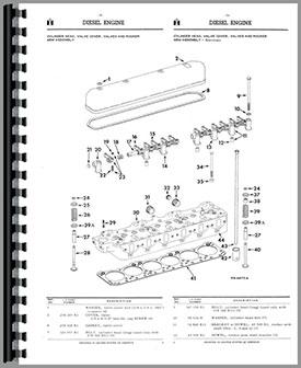 International Harvester TD9 Crawler Parts Manual